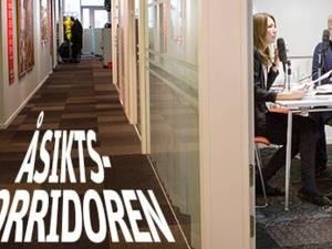 Politiker Åsiktskorridoren