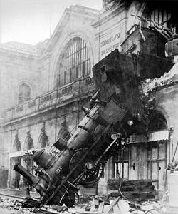 Järnvägsolycka