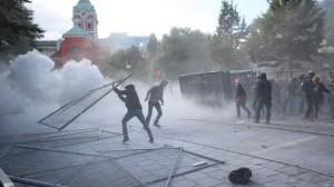Anti-nazi protest in Sweden