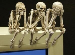 Skelett i garderoben