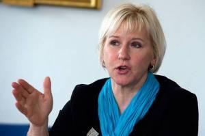 Margot Wallström Pekar