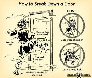 Kick In The Door