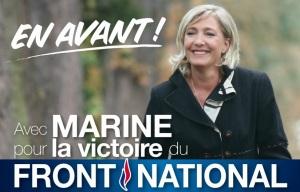 Marine Le Pen Valaffisch