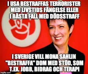 Mona Sahlin Straff