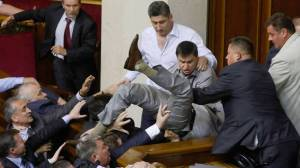 Slagsmål Parlament