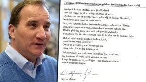 Stefan Löfvens Dikt