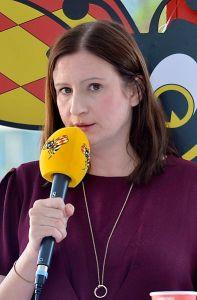 Birgitta Ohlsson Mikrofon