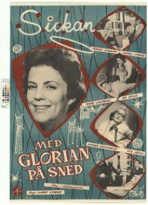 Med glorian på sned (1957) Filmografinr 1957/12
