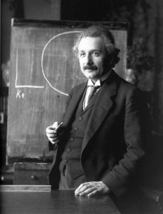 Albert Einstein Blackboard