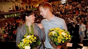 Åsa Romson och Gustav Fridolin