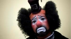 Clown Svart