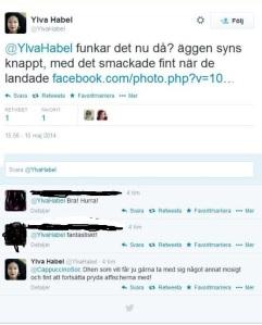 Tweet Ylva Habel