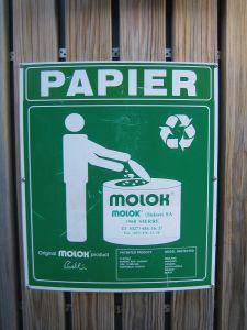 Pappersåtervinningen