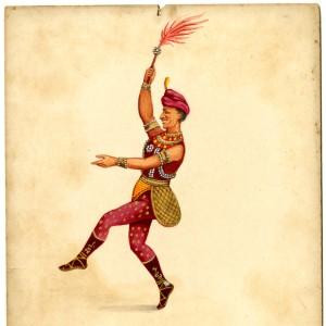 Dansande Man