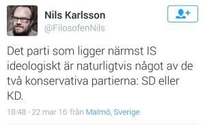 Tweet Nils Karlsson