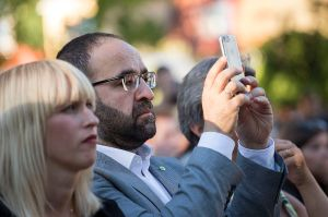 Mehmet Kaplan Mobiltelefon