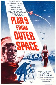 Plan 9 From Outer Space Affisch