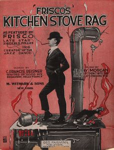 Friscos Kitchen Stove Rag Cover