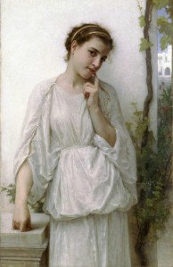 William-Adolphe Bouguereau - Rêverie